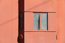 Old Side Window Caboose Train Car