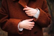 Unrecognizable  Female Hands I...