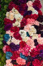 Floral Art Made Of Artificial ...