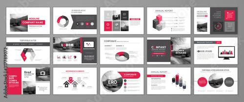Fototapeta Abstract business brochure set obraz