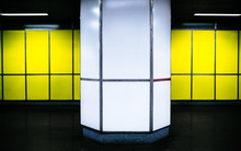 Architectural Column Against Y...