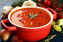 Tomato And Fresh Rosemary Soup...