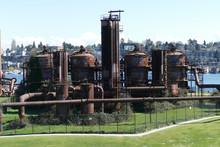 Vintage Gas Works Now Public Art Installation