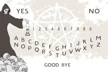 Creative Desgin Of Ouija Illus...