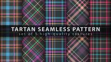 Set Classic Tartan Seamless Pa...
