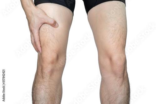 Photo Leg muscle pain
