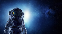 Astronaut Pioneer Doing Resear...