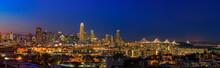 San Francisco Skyline Night Pa...