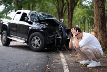 Man Wait For Insurance Call Center
