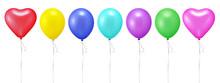 7色の風船