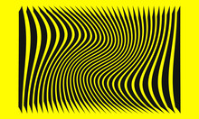 Abstract Yellow Background Wit...