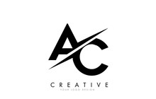 AC A C Letter Logo Design With...
