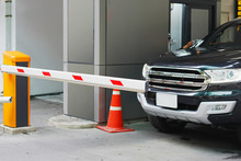 Automatic Barrier Gate, Security System For Building And Car Entrance Vehicle Barrier