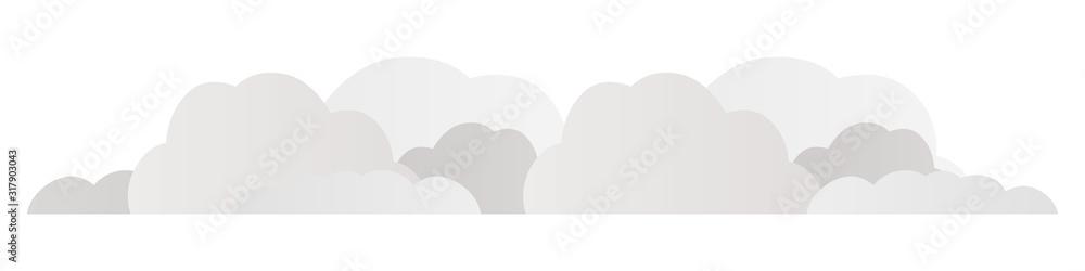 Fototapeta 雲の上