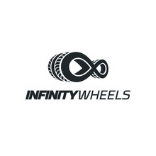 Car Infinite Wheel Logo Vehicle Mascot Transportation Auto Sport Wheel Speed Drive Motor Racing Rally Garage Tech Trip Port Drive Performance Electric Riding Gear Piston Classic Dealership