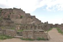 Golconda Fort, Hyderabad, Tela...