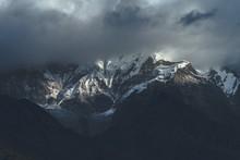 Beautiful Shot Of The Himalaya...