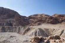 Landscape Around The Qumran Ca...