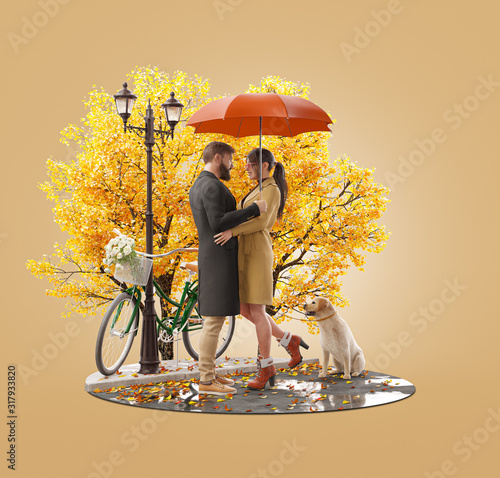 Romantic relationship and family concept #317933820