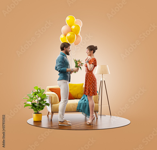 Romantic relationship and family concept #317933832