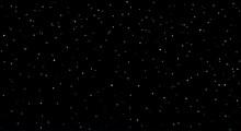 Stars In The Night Sky. Vector...