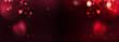 Leinwanddruck Bild - Abstract black red background