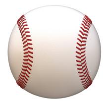 Baseball Isolated On White Bac...
