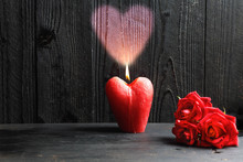 Valentines Day Concept. Heart ...
