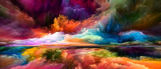 Fototapeta Nowoczesny Illusions of Inner Spectrum