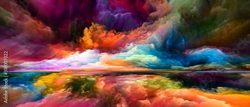 Fotografiet Illusions of Inner Spectrum