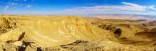Arava Desert From Mount Ayit Lookout