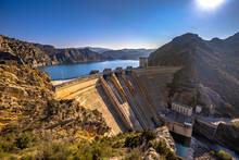View Of Dam At Embalse De Sant...