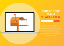 Subscribe Now For Our Newsletter. Subscribe Button Template.