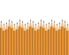 Lead Pencils Various Length On...