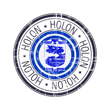 City Of Holon, Israel Vector S...