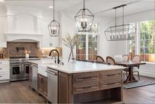 Beautiful Kitchen In New Tradi...