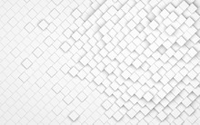 Abstract White Cubes Backgroun...