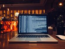 Computer Code On Laptop Screen...