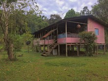 Old Wooden House In The Forest Of Talamanca Costa Rica