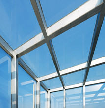 Transparent Glass Roof Of A Mo...