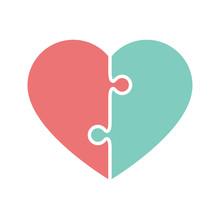 Love Heart Puzzle Pieces Makin...