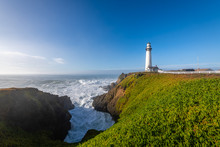 Pigeon Point Lighthouse At Day...