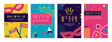 Greeting Card Set For Jewish H...