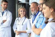 Team Of Different Doctors Havi...
