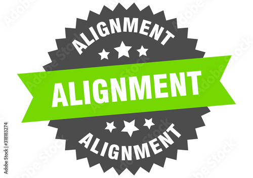 alignment sign Wallpaper Mural