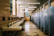 Interior Of Empty Public Restroom