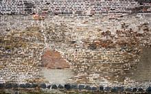 Full Frame Shot Of Old Brick Wall