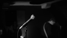 Close-Up Of Microphone Against...