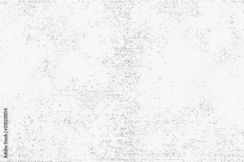 Abstract black and white background, chaotic points Wallpaper Mural