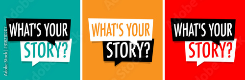 What is your story Fototapet
